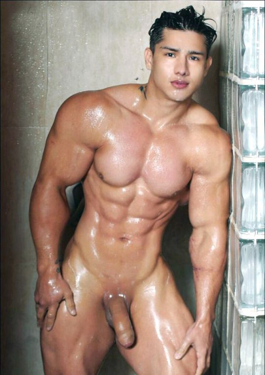 Naked asian men with big cocks