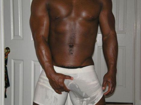 Long black dick underwear