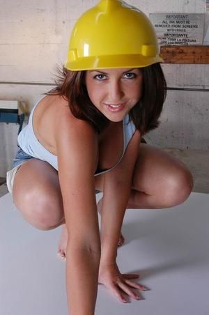 Isabella soprano sexy construction worker