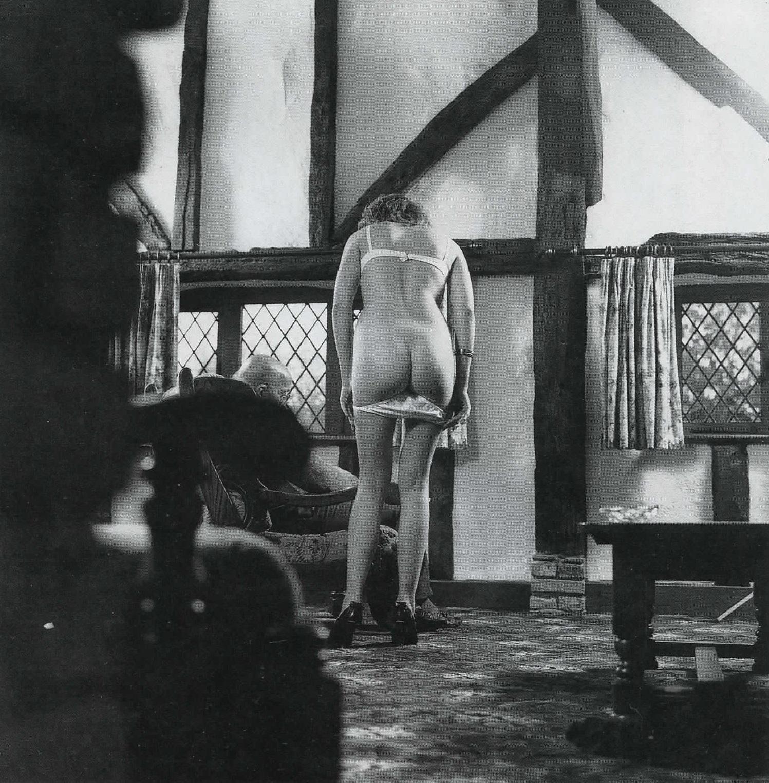 Images from british spanking magazines