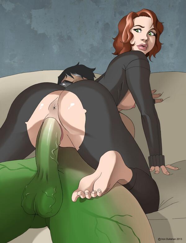 Black widow anime porn