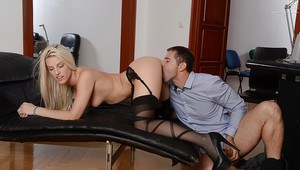 Boy on girl handjob
