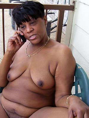 Ebony mature black homemade porn