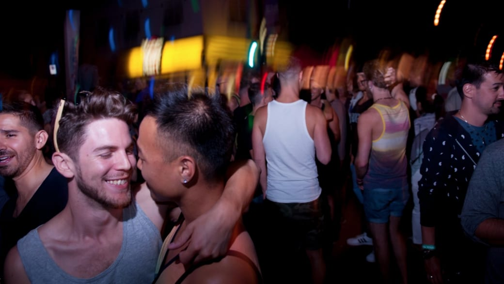 Vancouver pride naked party