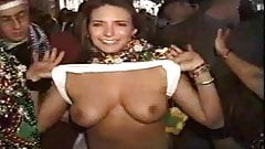 Naked girls at mardi gras