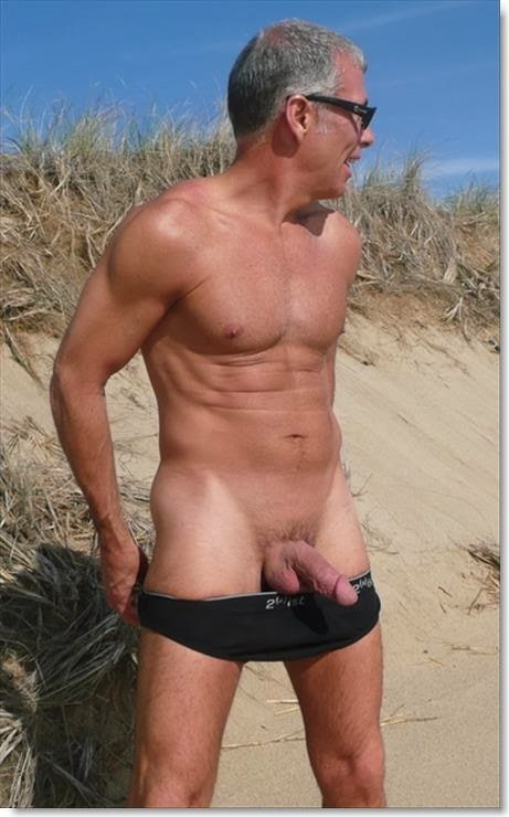 Silver foxes men naked