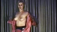 Vintage undressing and dancing
