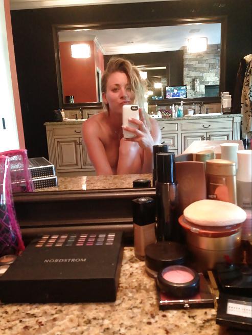 Kaley cuoco leaked nude photos of celebrities