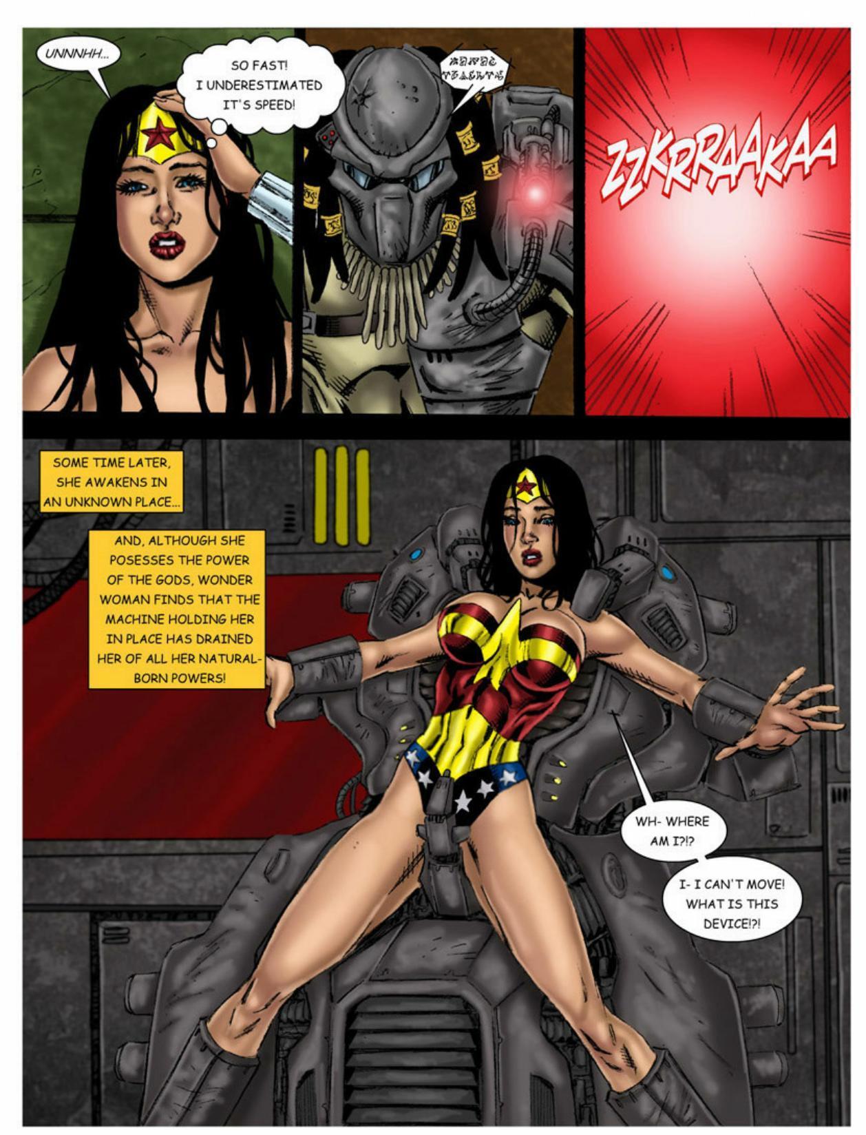 Wonder woman interracial sex comics