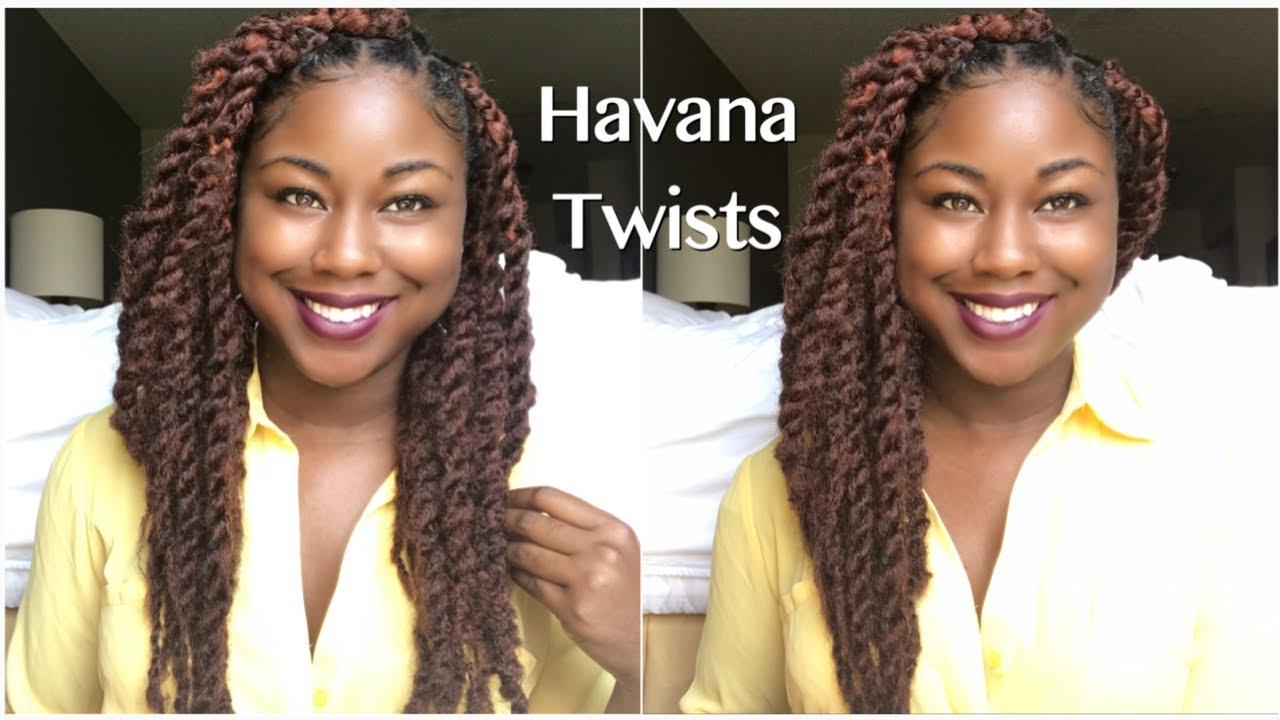 Havana twist with marley braid hair