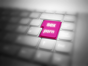 Men adicted to porn