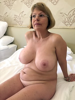 Mature with large boobs