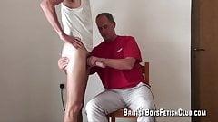 British boys fetish spanking