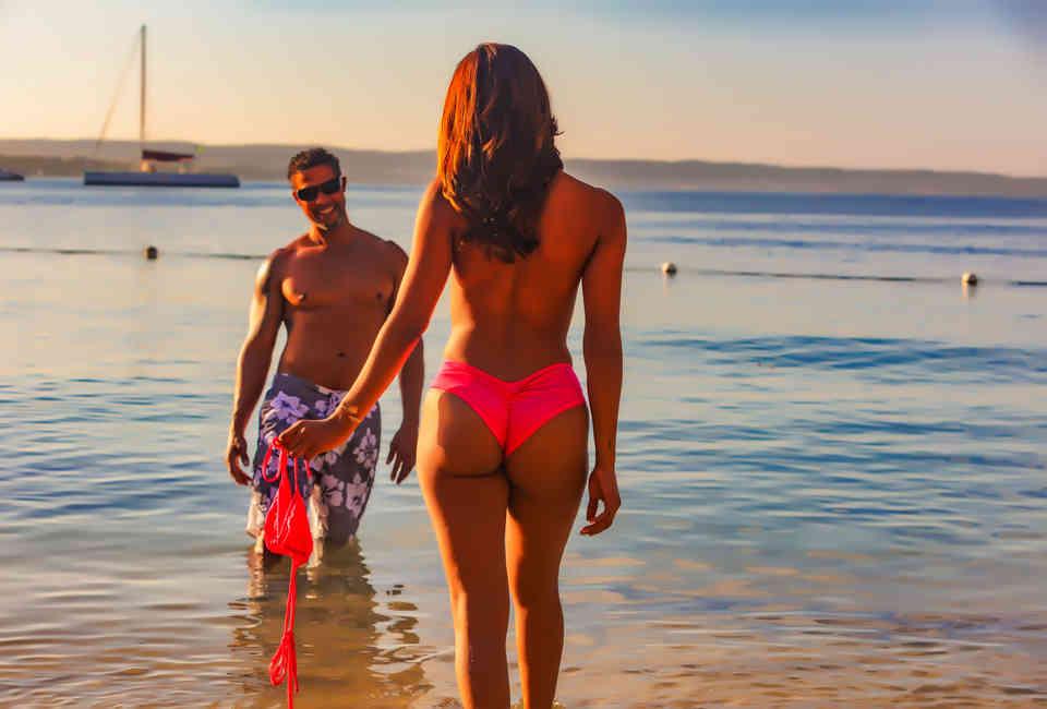 Mature nude couples beach florida