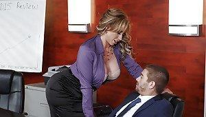 Femdom f m spanking with captions