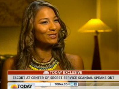Colombian secret service scandal woman