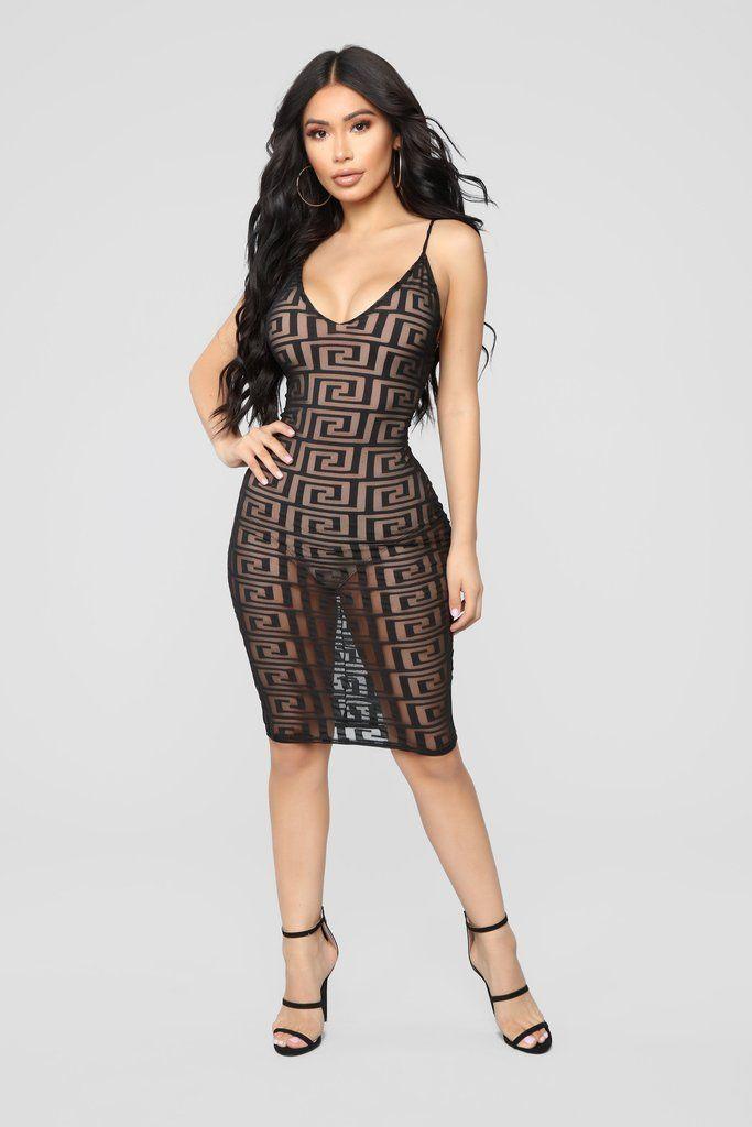 Nude cocktail dress models