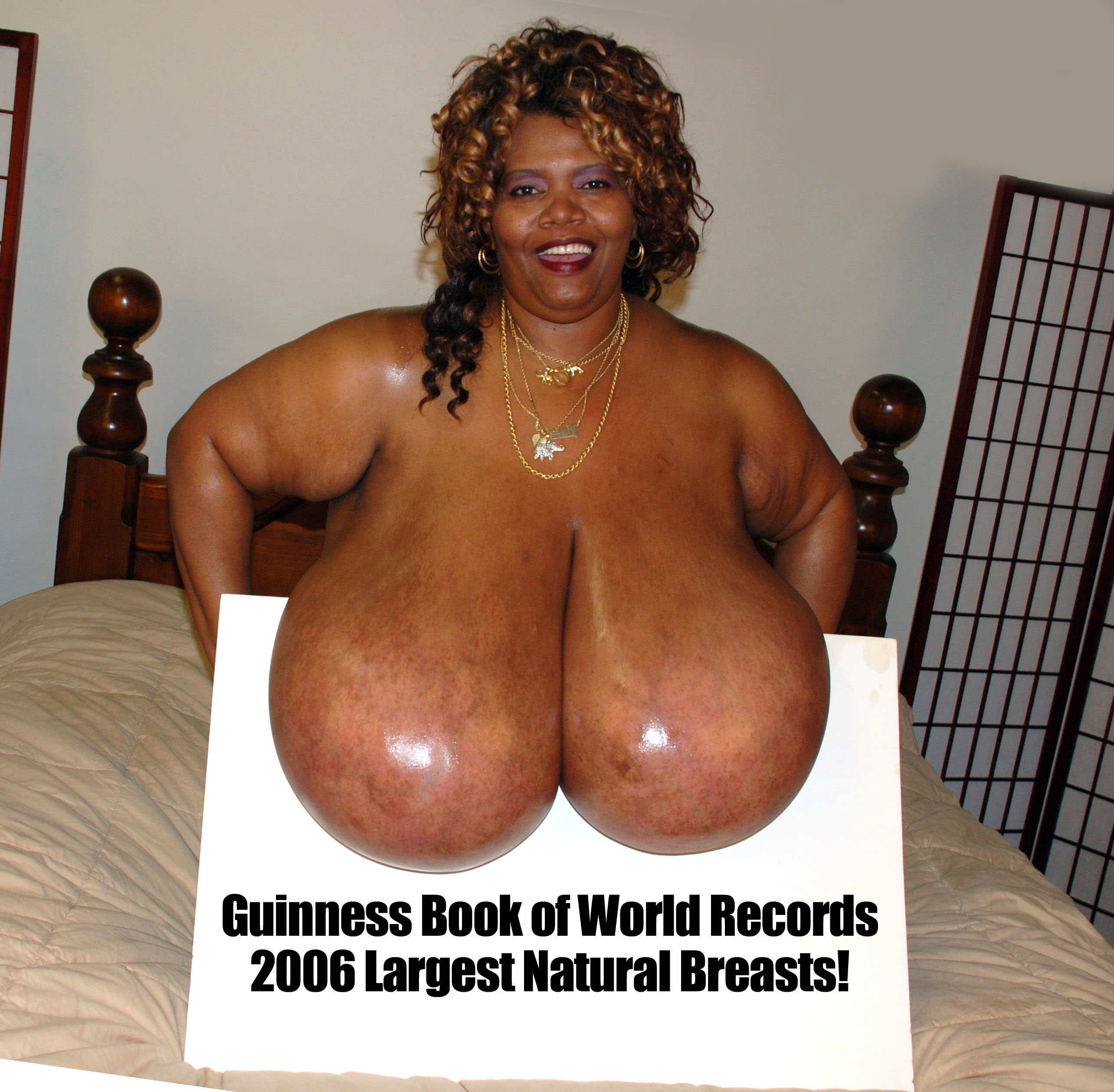 Worlds biggest naked tits