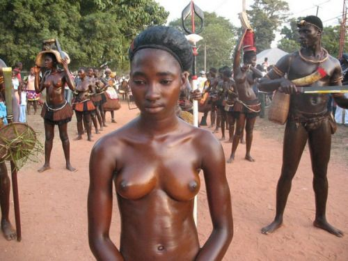 Nude africa tribes girl