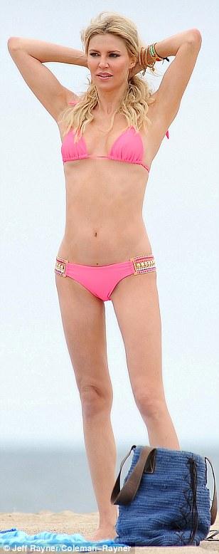 Brandi glanville pink bikini