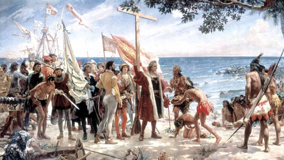 Christopher columbus native americans