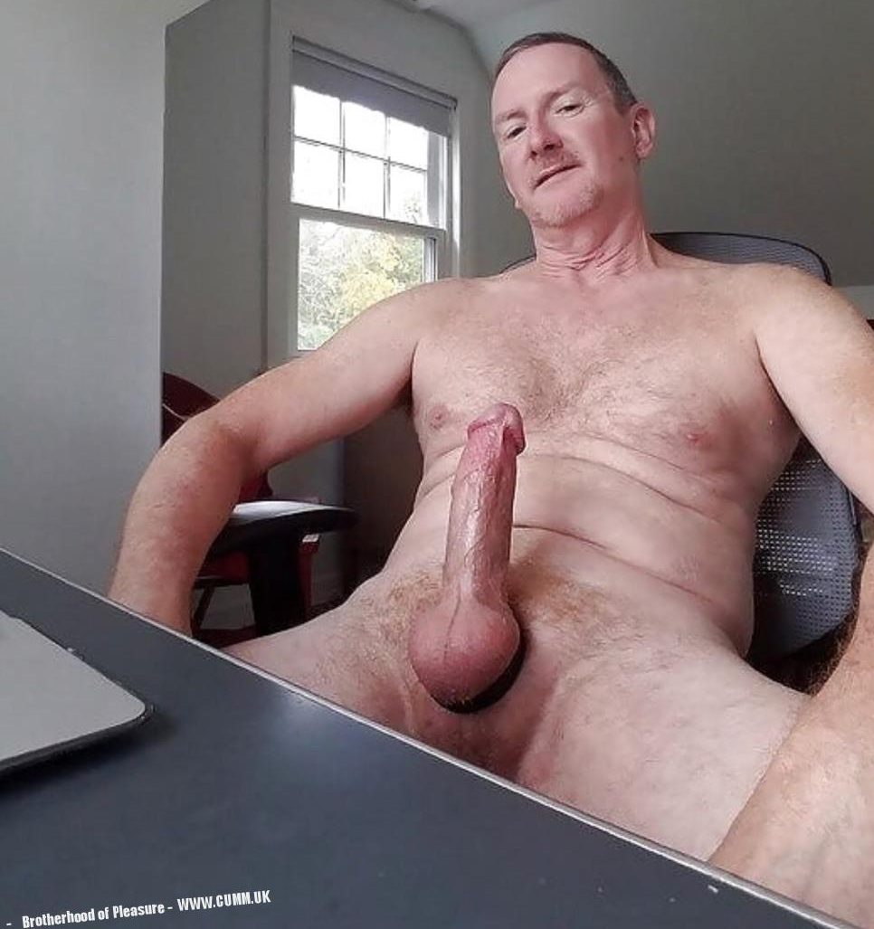 Daddy muscle men with big cocks