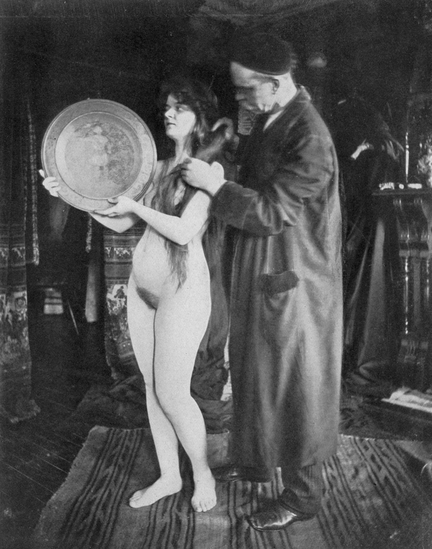 Junior nudist vintage photo