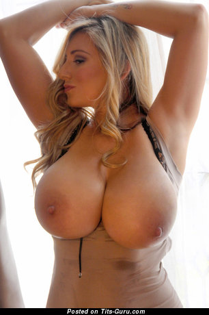 Big boobs blonde girls