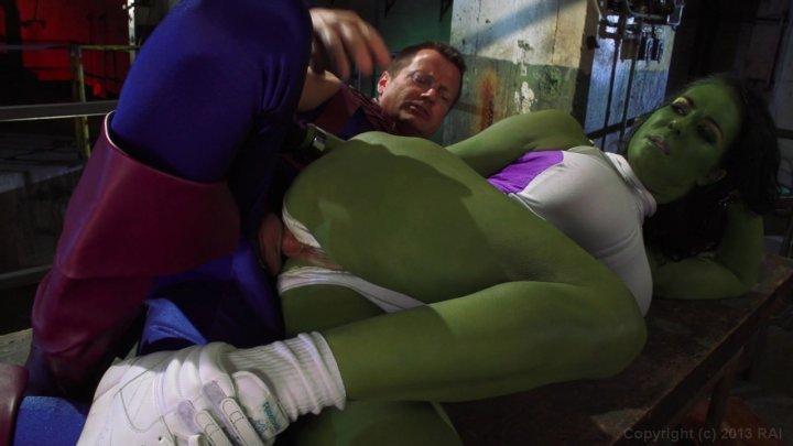Avengers xxx she hulk porn parody