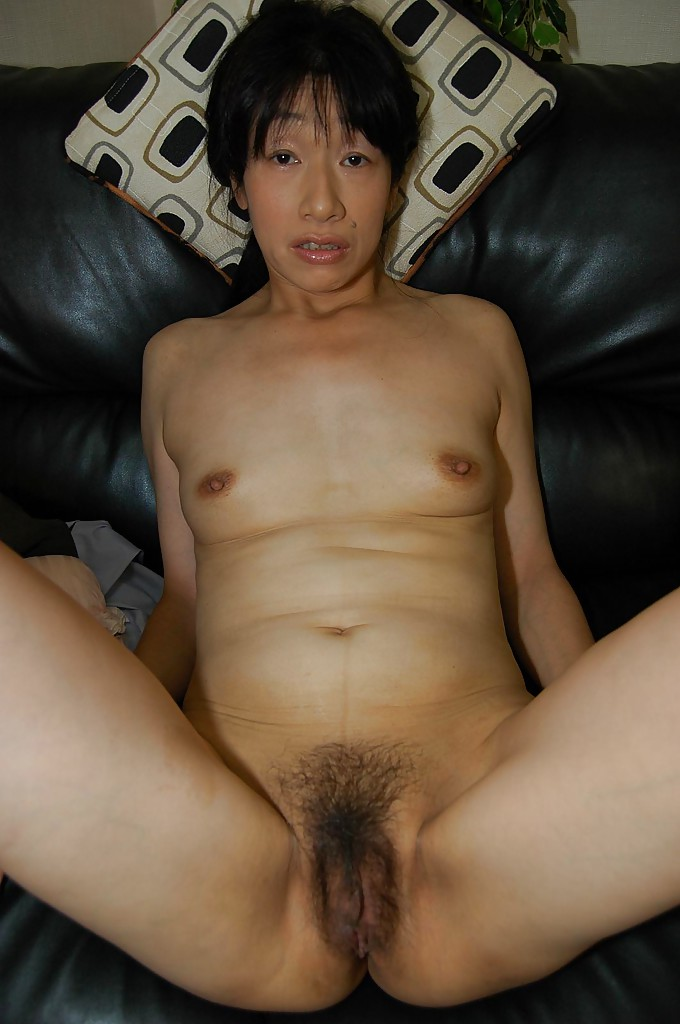Mature chinese hairy pussy