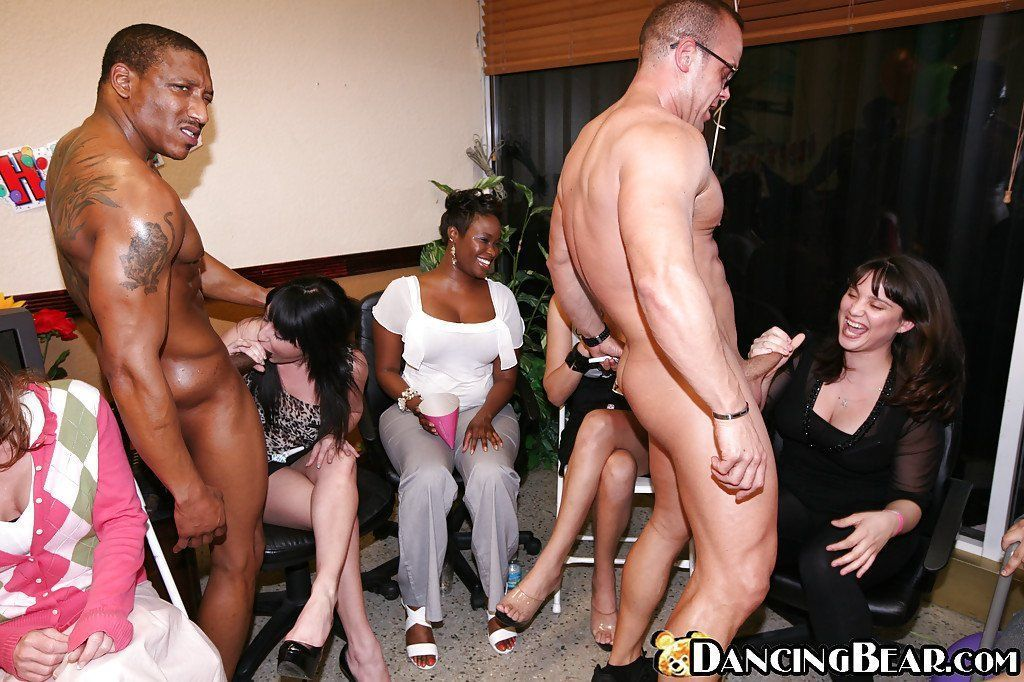 Hot naked party sex