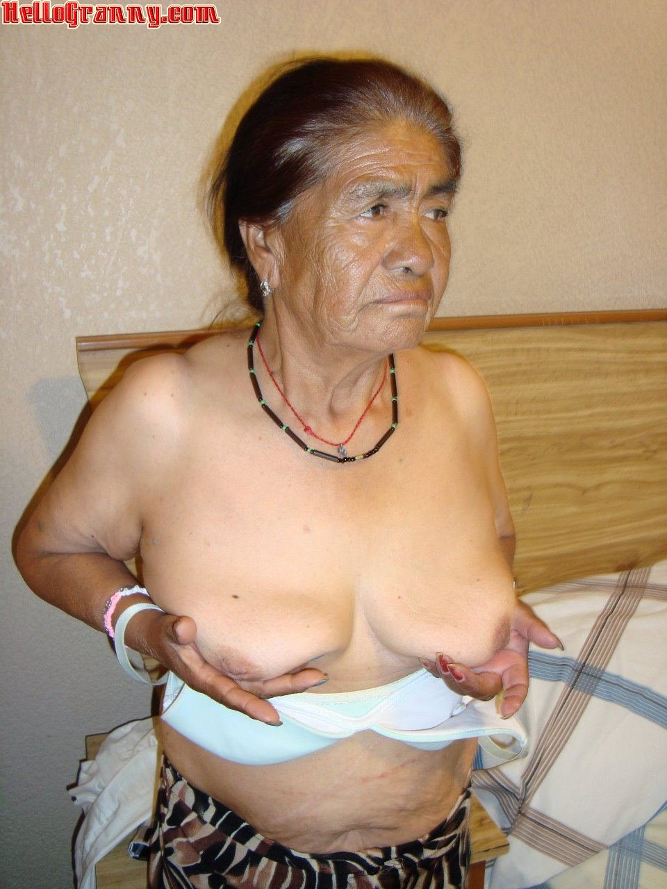 Granny naked indian nude