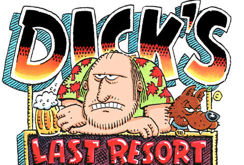 Dicks last resort restaurant chicago