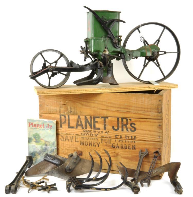 Vintage planet jr garden seeder