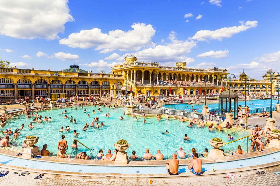Swimming nude in europe