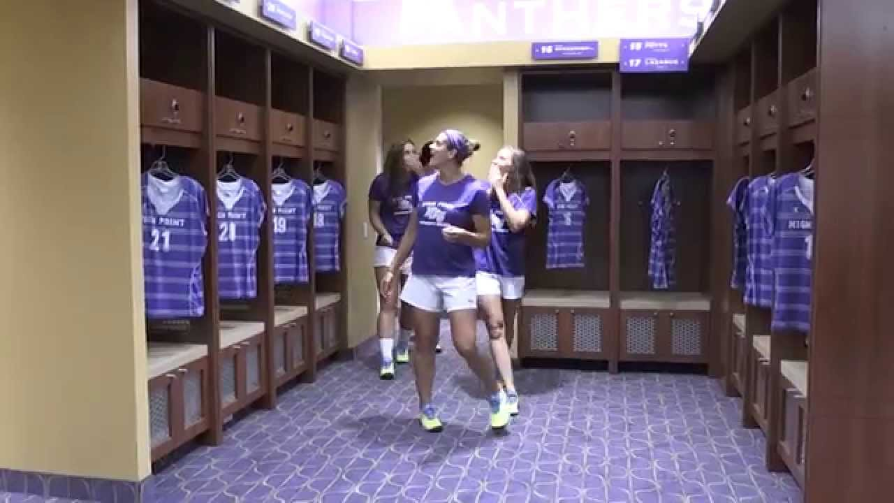 Soccer girls changing clothes