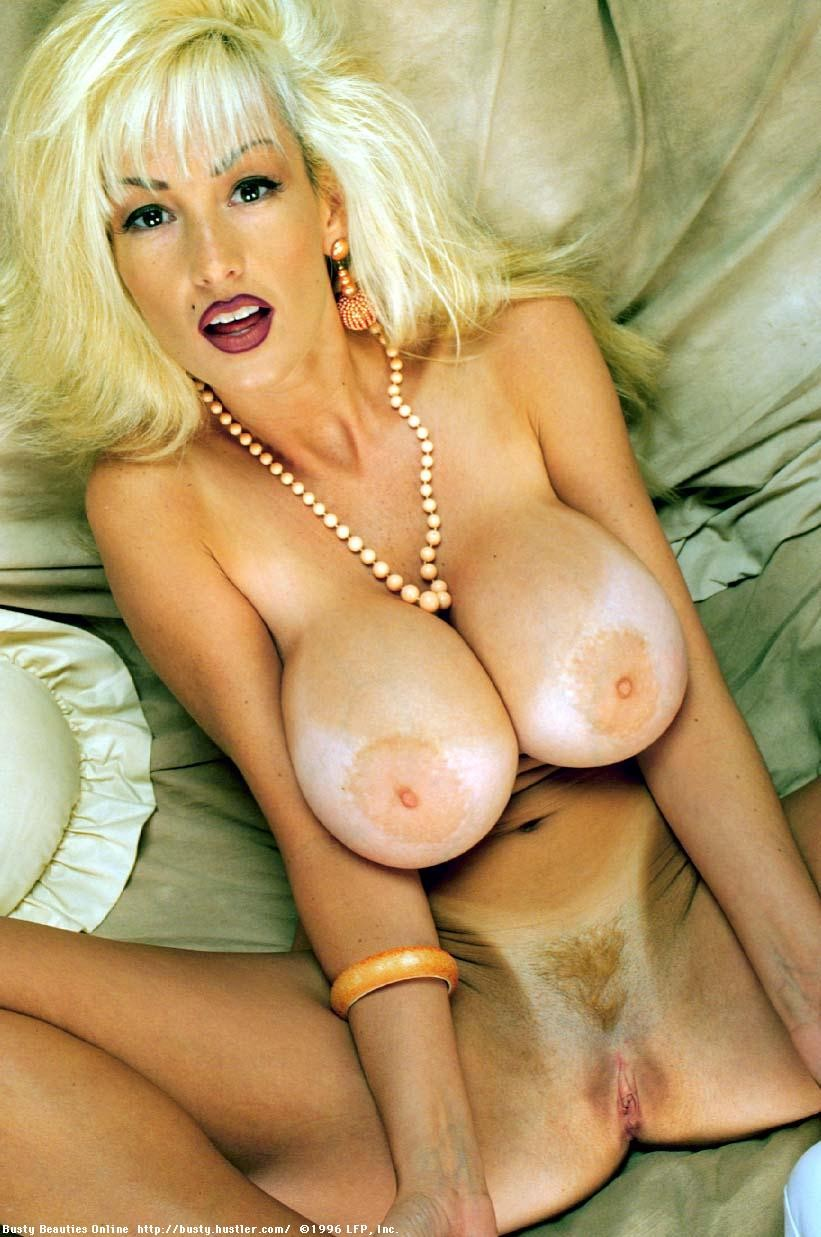 Big tits retro pornstar