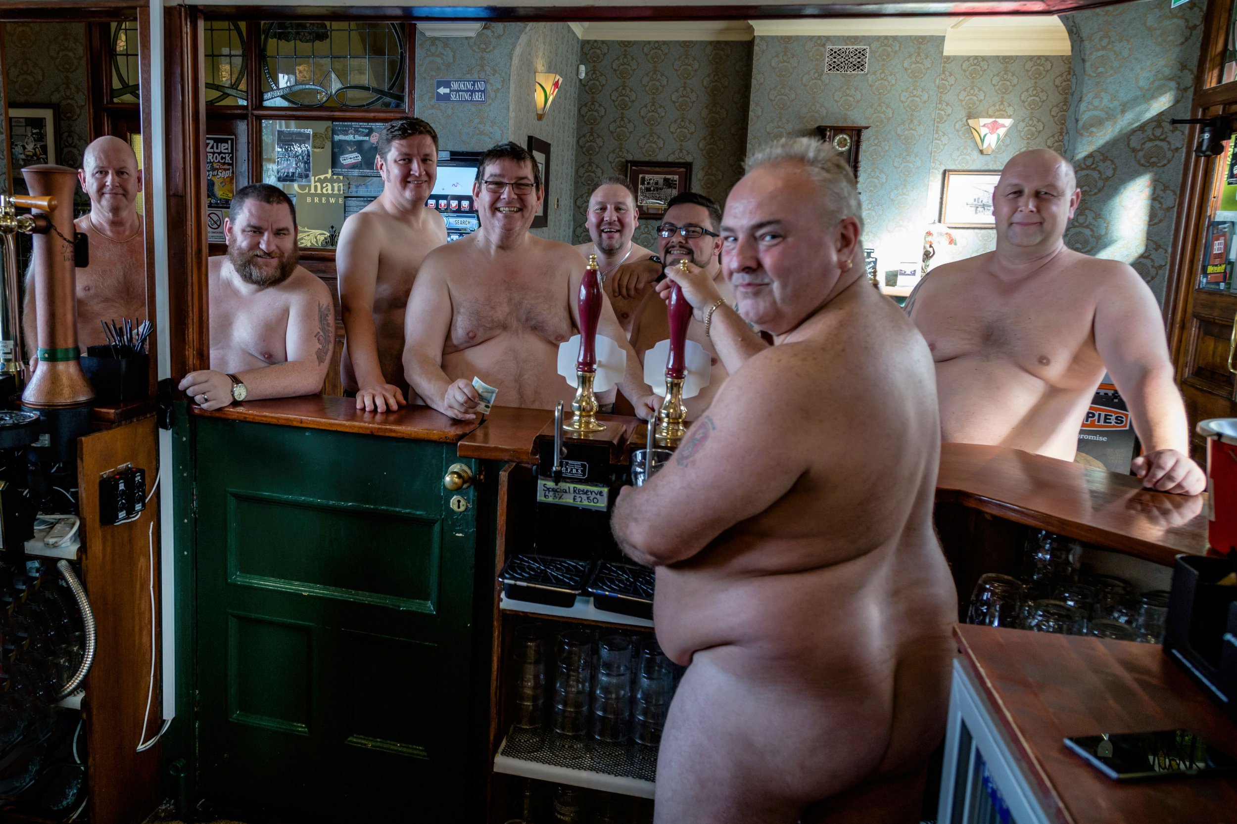 Picture of fat men naked