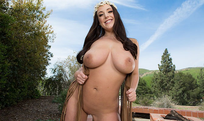 Real large breasted porn stars