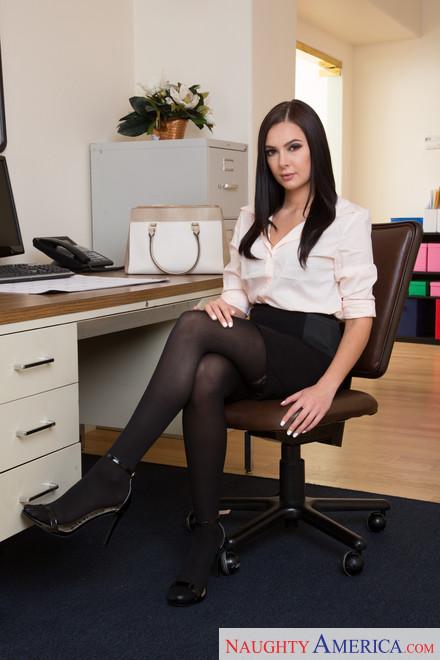 Naughty america office porn