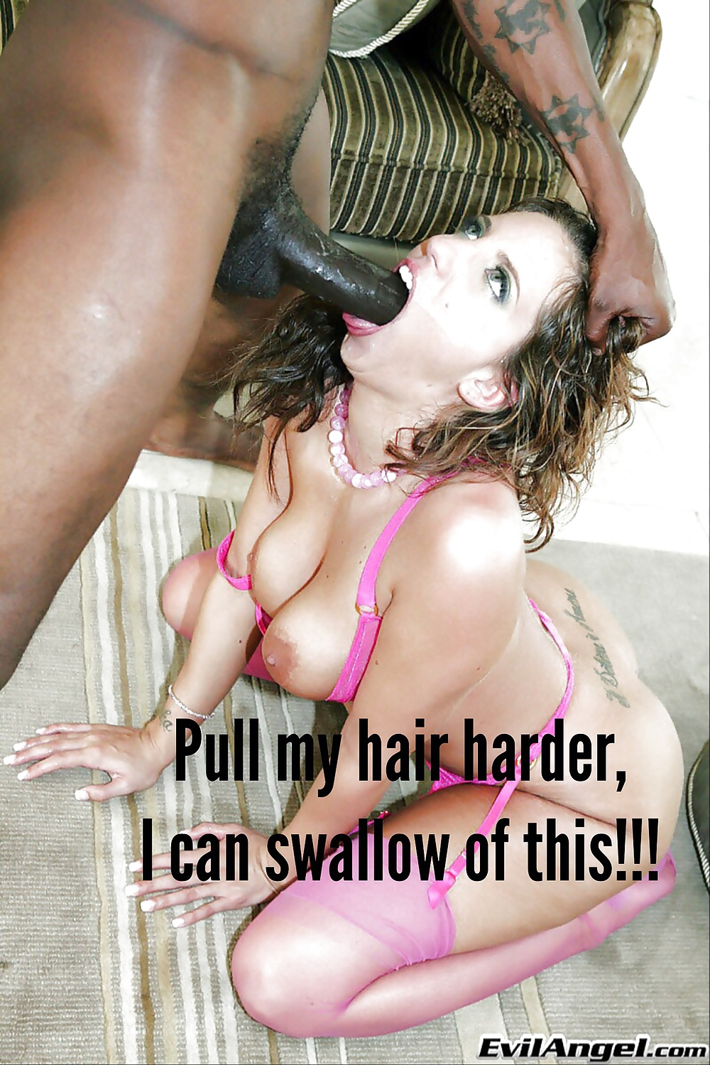 Interracial black cock sluts captions