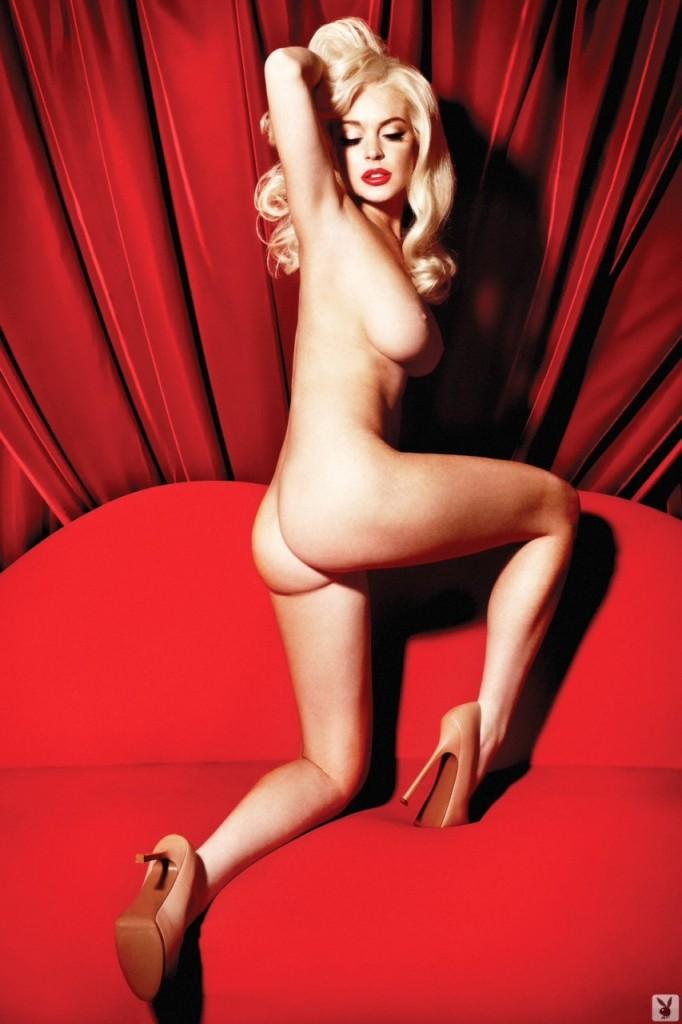 Leaked lindsay lohan topless