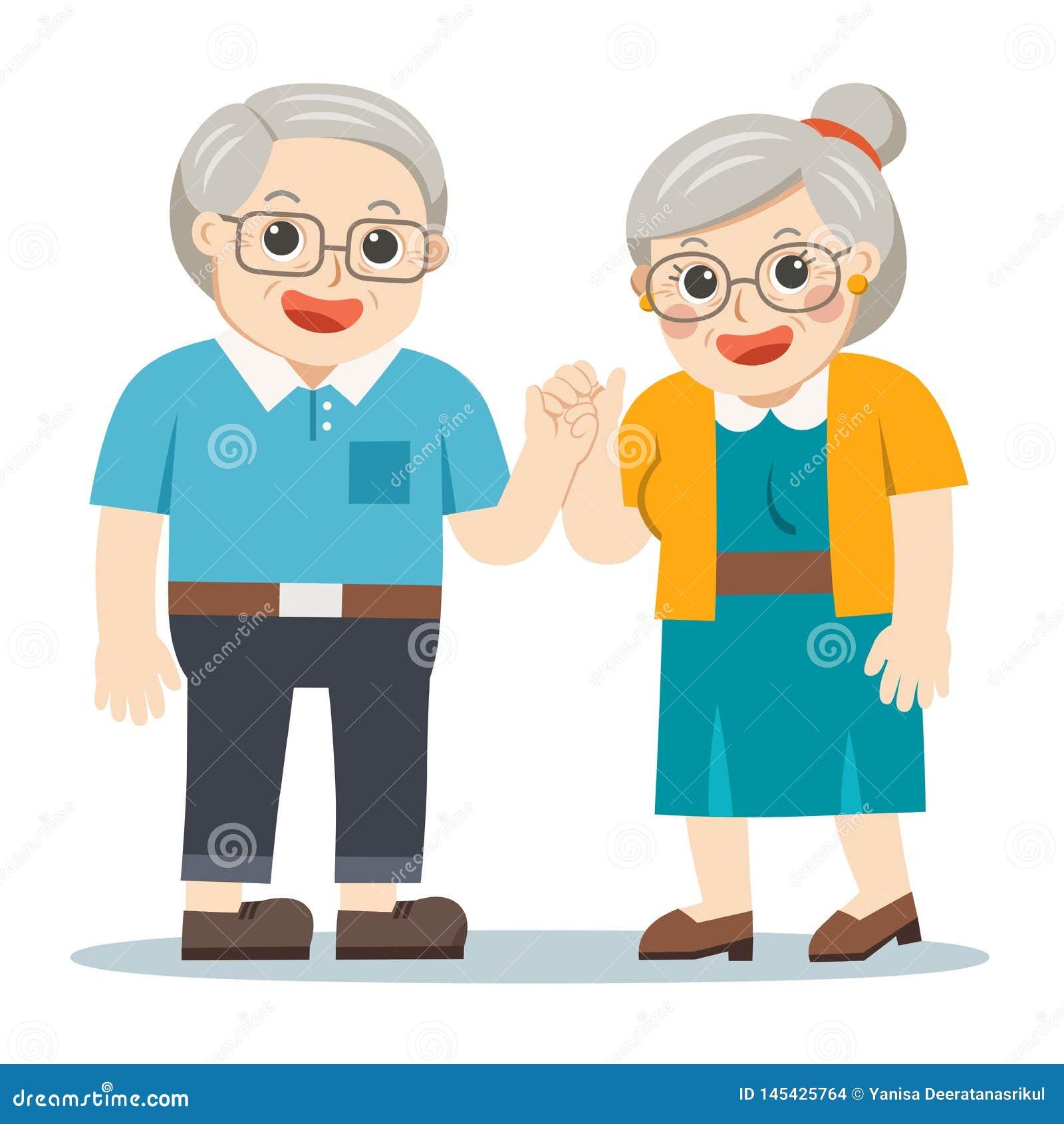 Mature grandmas adn grandpas