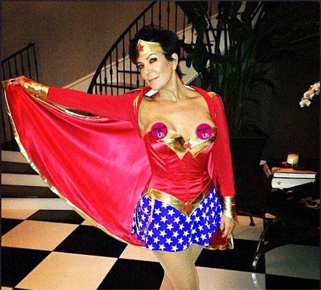Girl halloween costume oops