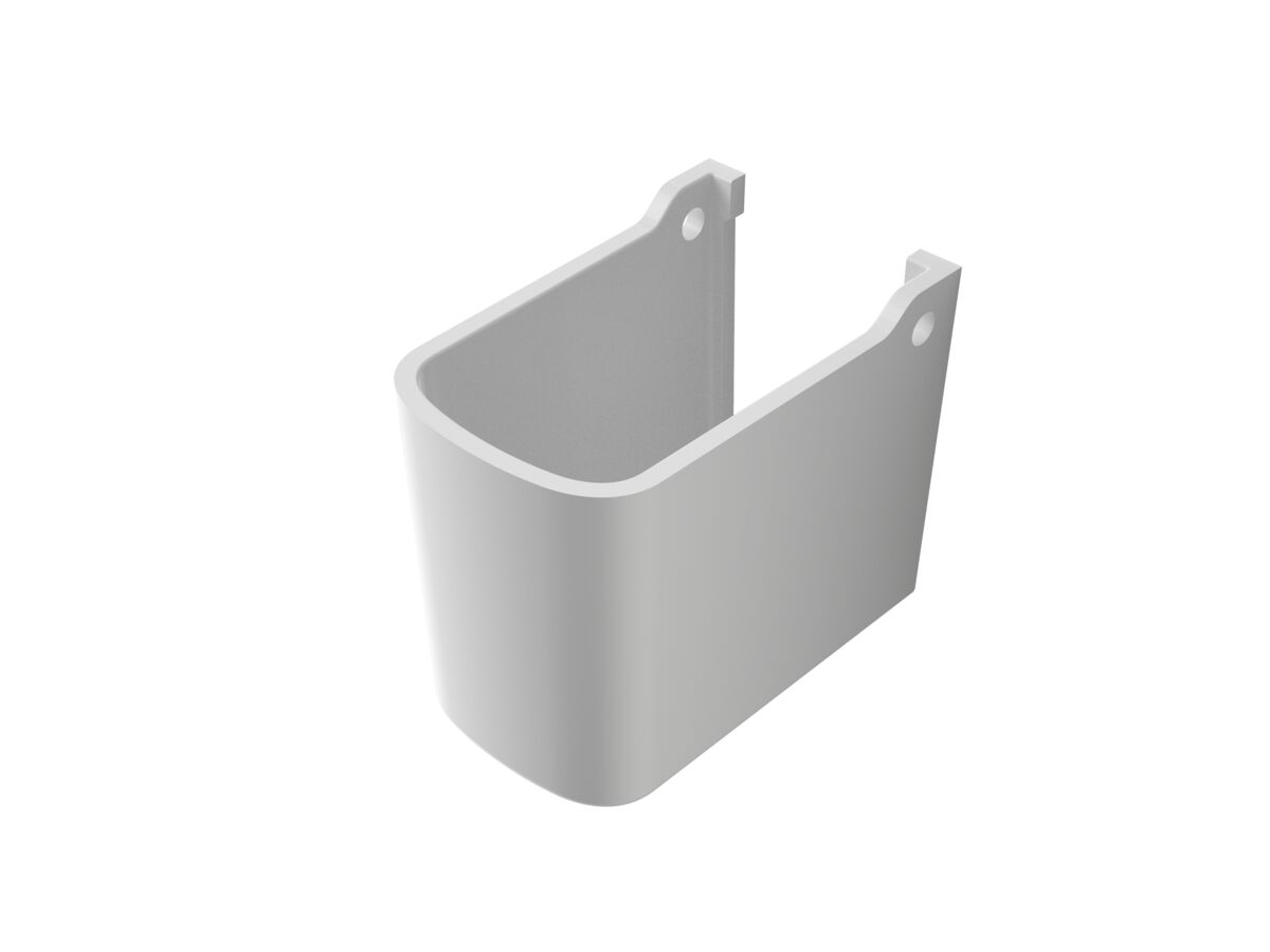 Refrigerant line penetration shroud