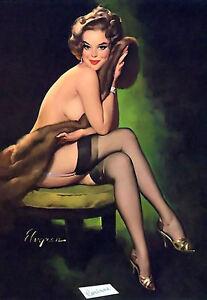 Sexy lady half naked