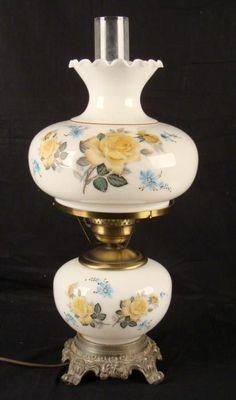 Appraise vintage hurricane lamp