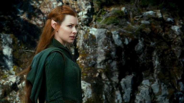 In the hobbit evangeline lilly elf