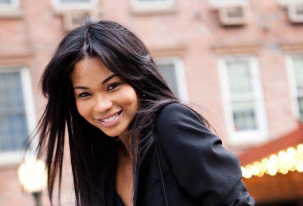 Sexy mixed black asian girl