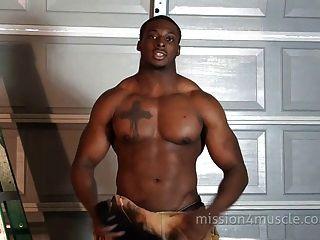 Black men porn muscle